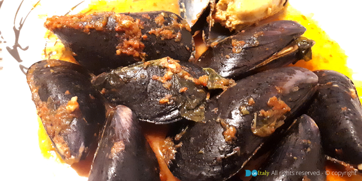 Typical mussels