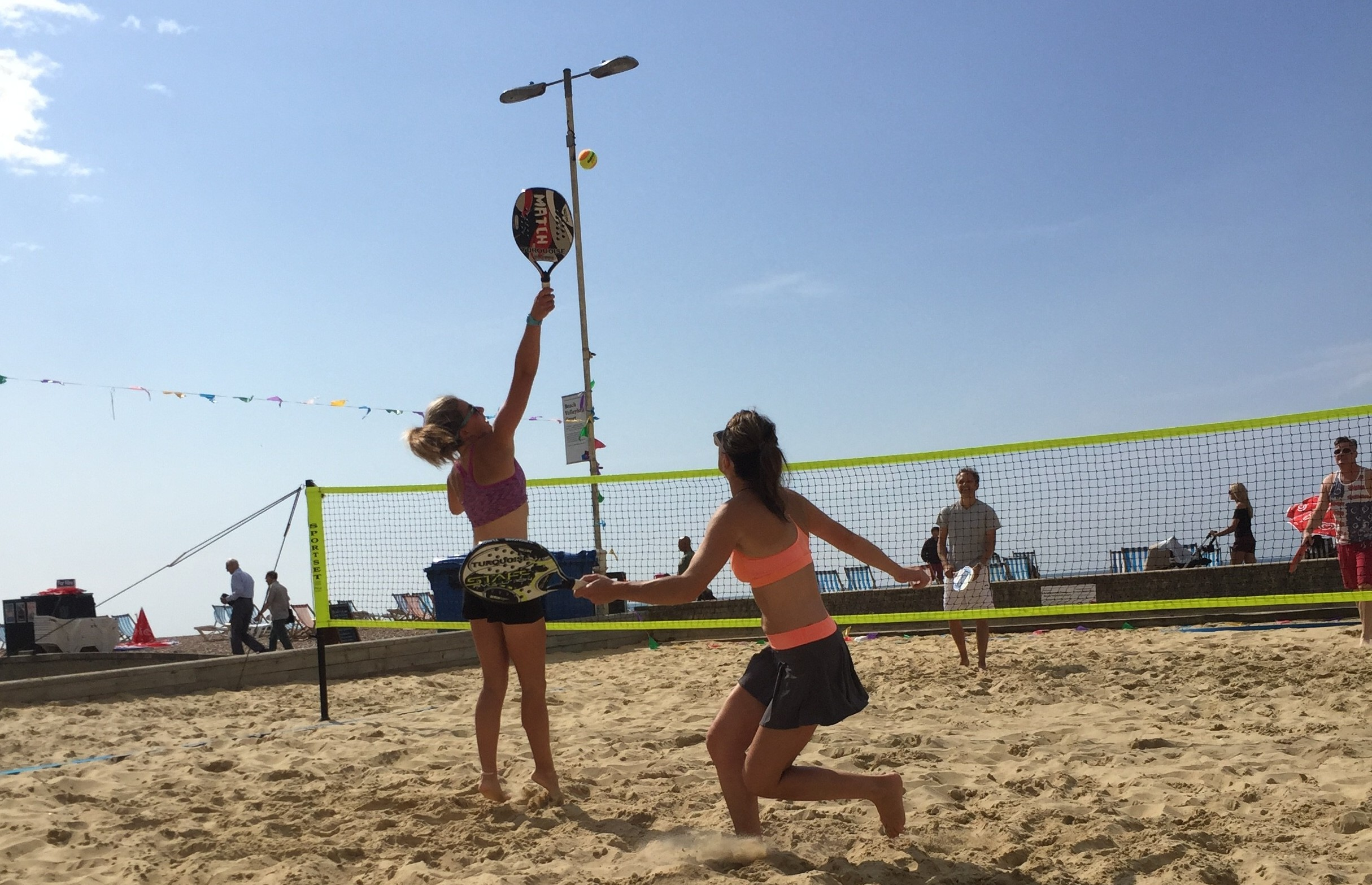 Beach Tennis in Brighton. Ph. http://beachtennisuk.co.uk